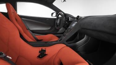 McLaren MSO R Coupe interior