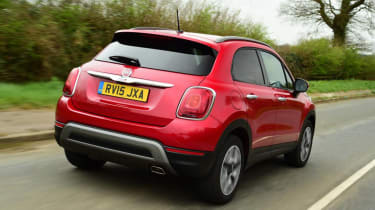 Used Fiat 500X - rear action