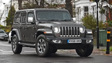 Living with a Wrangler: It's superb off-road, but is the 4x4 family-friendly, too?:  https://www.autoexpress.co.uk/jeep/wrangler/352177/could-you-live-jeep-wrangler