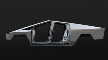 Tesla Cybertruck monocoque