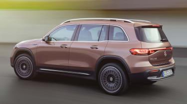 Mercedes EQB - rear action