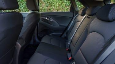 New Hyundai i30 - rear seats