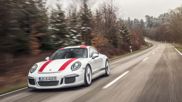 Porsche 911 R ride review - front tracking