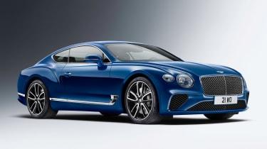 Bentley Continental GT - front static studio