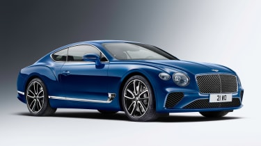 Bentley Continental GT - front static studio