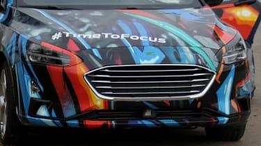 2018 Ford Focus Hatchback spy grille