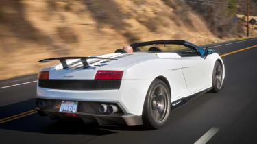 Lamborghini Performante rear