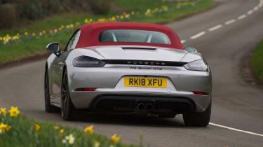 Porsche 718 Boxster GTS - rear cornering