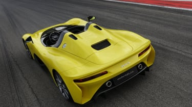 Dallara Stradale rear