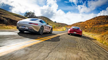 Mercedes-AMG GT vs Porsche 911 GTS