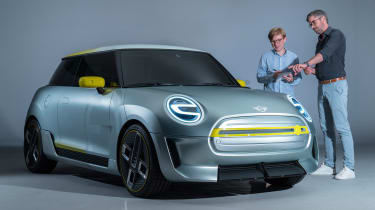 MINI Electric concept - front / James Brodie