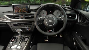 Audi S7 interior