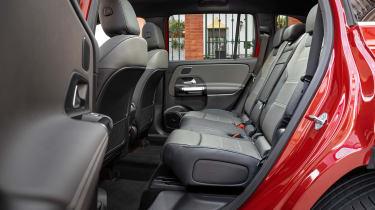 Mercedes GLB - back seats
