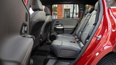 Mercedes GLB - back seats
