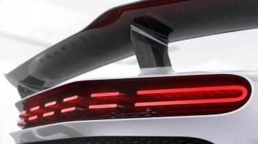 Bugatti Centodieci - rear light