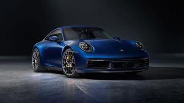 Porsche 911 - front blue