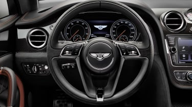 Bentley Bentayga Speed - dash