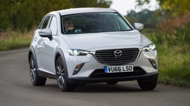 Used Mazda CX-3 - front cornering