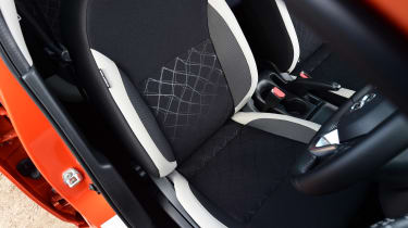 Nissan Micra - front seats