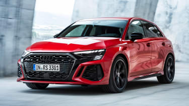 Audi RS 3 Sportback - front tracking