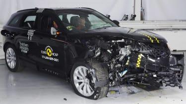 Range Rover Velar Euro NCAP front low impact