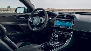 Jaguar XE Project 8 - interior