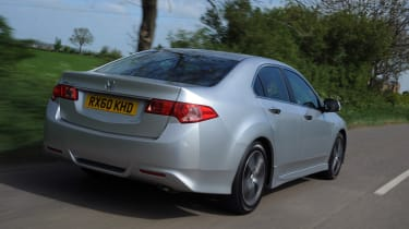 The Accord is available as a saloon or a Tourer estate.