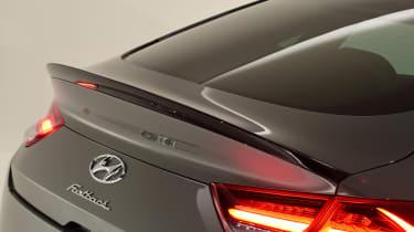 Hyundai i30 Fastback N - rear spoiler