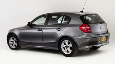 BMW 1 Series rear tracking