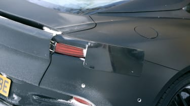 Aston Martin Vanquish winter spy taillight