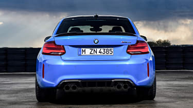 BMW M2 CS - full rear