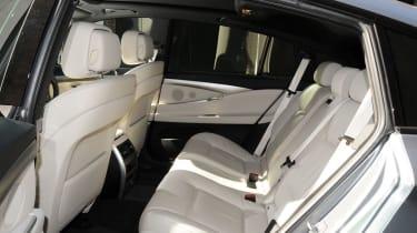 BMW 5 Series GT rear seats