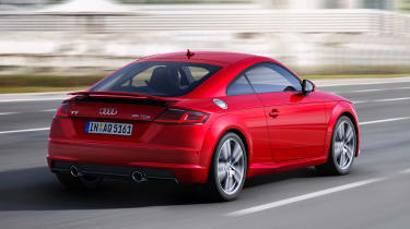 Audi TT - rear