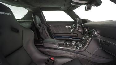 Mercedes SLS Electric Drive seats