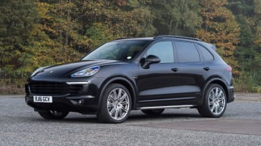 Used Porsche Cayenne - front