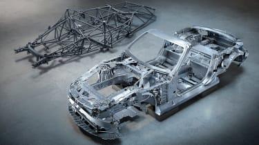 Mercedes SL aluminium chassis 3