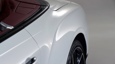 Bentley Continental GTC - studio rear detail