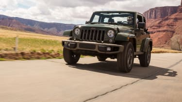 Jeep Wrangler 75th Anniversary - low view