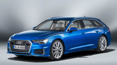 Audi A6 Avant - front studio
