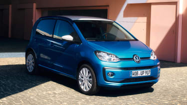 Volkswagen up! GTI - blue front