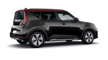 Kia Soul EV Maxx rear