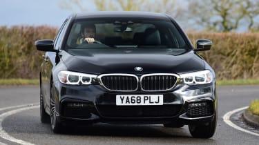 BMW 5 Series - front cornering