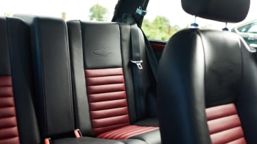 David Brown Mini Remastered - rear seats