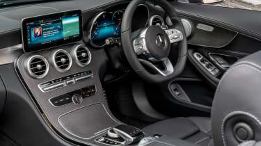 Mercedes C-Class Cabriolet - interior