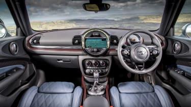 MINI Cooper D Clubman 2015 interior