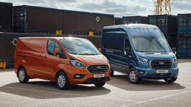 New Ford Transit and Ford Transit Custom