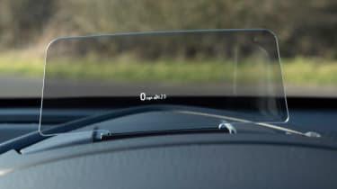 Mazda 2 - head-up display