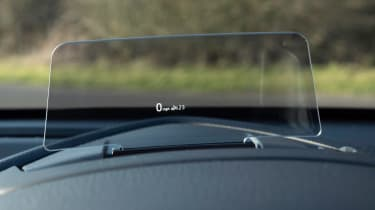 Mazda 2 - head-up display
