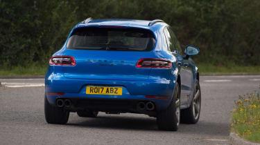 Used Porsche Macan - rear cornering