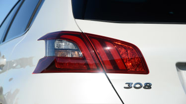 Peugeot 308  - rear light